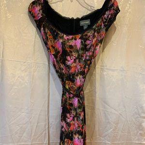 Zac posen floral print dress